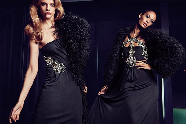 gucci Joan Smalls & Martha Streck for Gucci Fall 2011 Catalogue