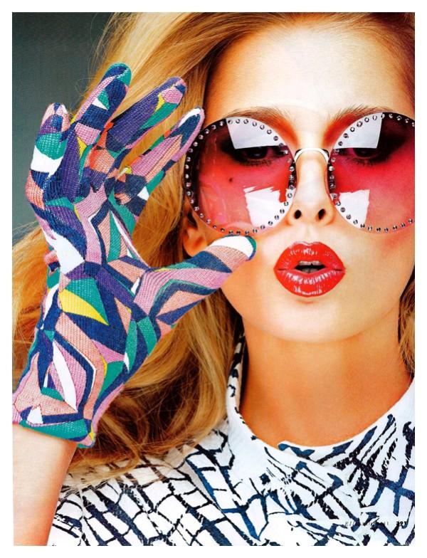 hana soukupova Hana Soukupova for <em>Elle Italia</em> April 2011 by Alexei Hay