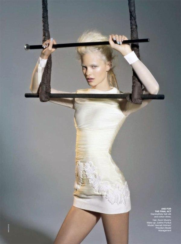 hannah holman Hannah Holman by Max Doyle for <em>Vogue Australia</em> May 2011