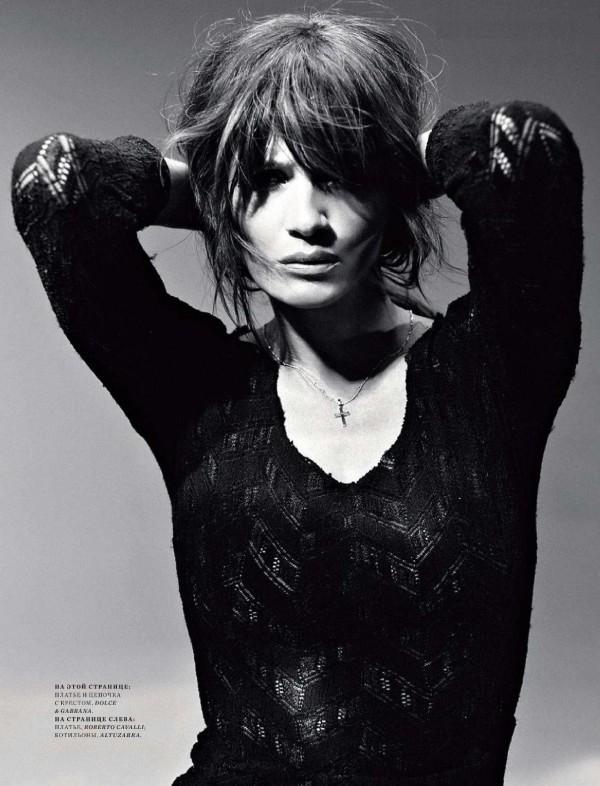 helena christensen Helena Christensen for <em>Harpers Bazaar Russia</em> May 2011 by Luis Sanchis