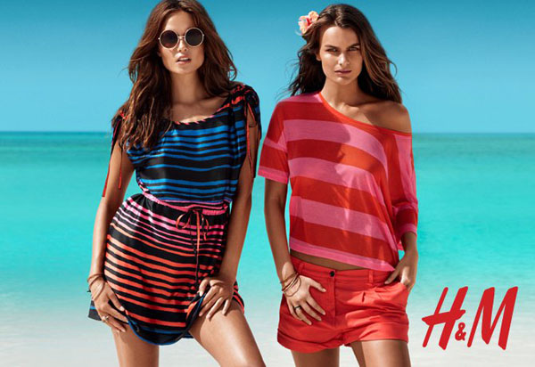 hmsummer Natasha Poly, Edita Vilkeviciute & Others for H&M Summer 2011 Campaign