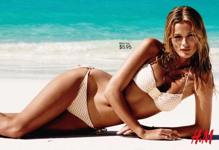 hmswim Edita Vilkeviciute for H&M Swimwear 2011 Campaign (Preview)