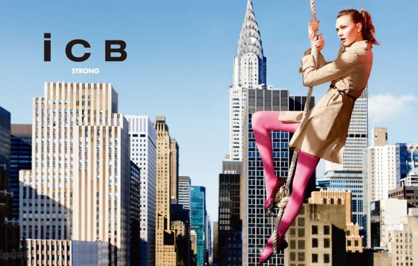 icb Karlie Kloss for iCB Spring 2011 Campaign by Ryan McGinley