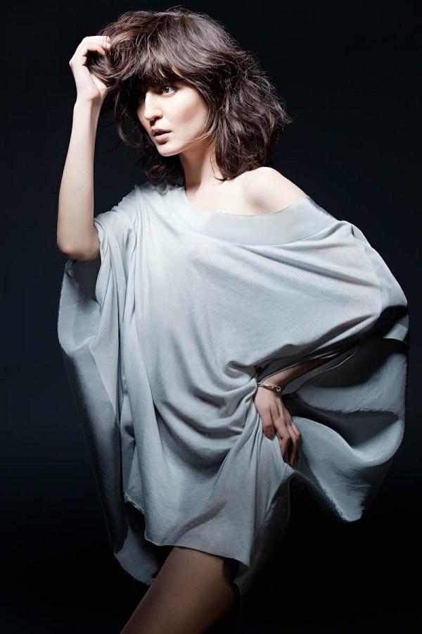 irina Philippe Dubuc for Icone Simons Spring 2011 Campaign | Irina Lazareanu by Martin Rondeau