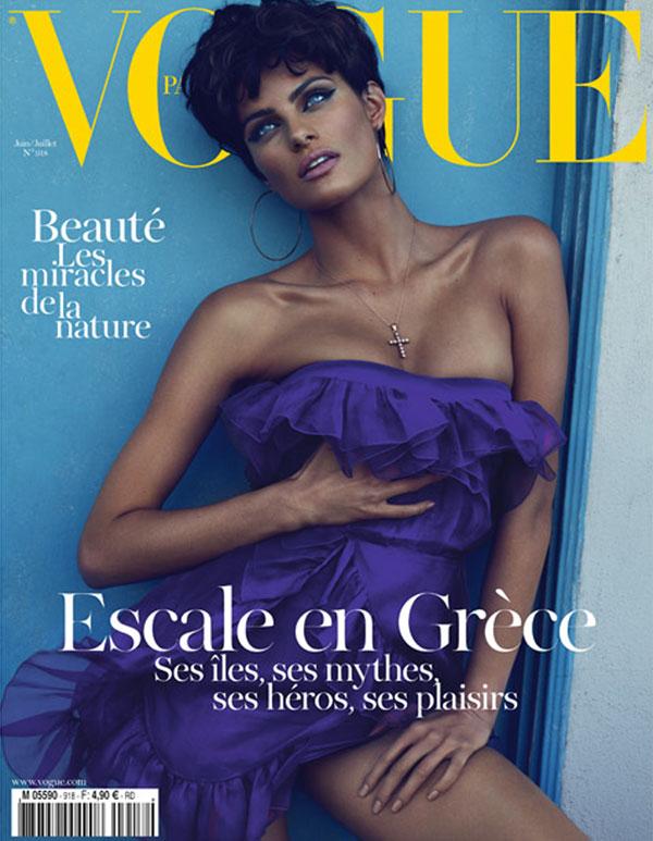 isabelicover0 <em>Vogue Paris</em> June/July 2011 Cover | Isabeli Fontana by Mert & Marcus
