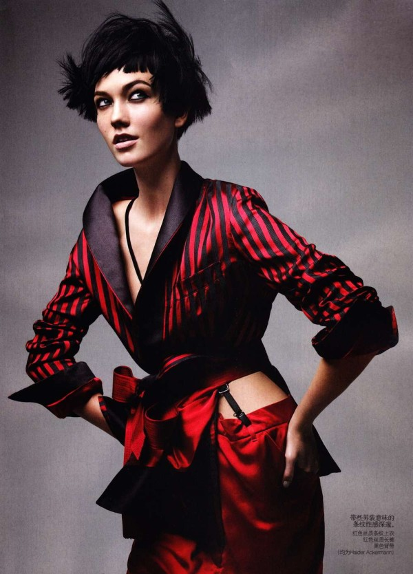 karlie kloss Karlie Kloss by Patrick Demarchelier for <em>Vogue China</em> May 2011