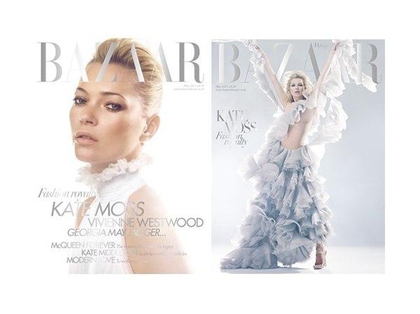 katecover <em>Harpers Bazaar UK</em> May 2011 Cover | Kate Moss by Solve Sundsbo