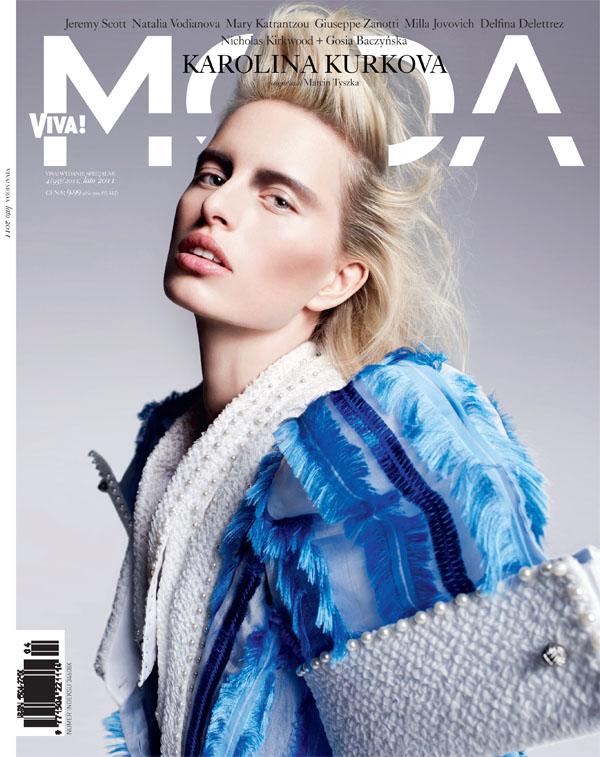 kurkovacovers1 Karolina Kurkova Covers <em>Viva! Moda</em> Summer 2011