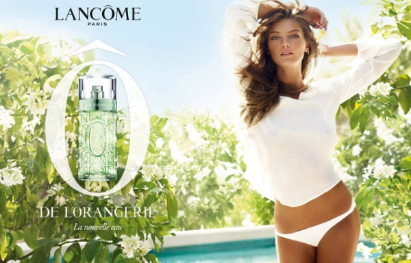 lancome Daria Werbowy for Lancome O de L`Orangerie Fragrance Campaign