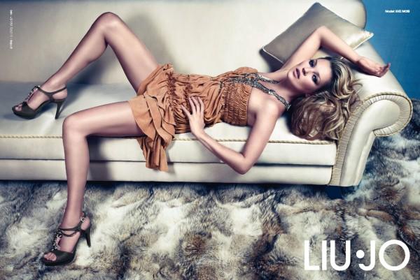 liujo Kate Moss for Liu Jo Spring 2011 Campaign by Mario Sorrenti