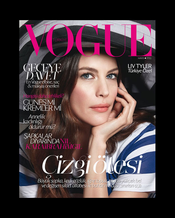 livcover <em>Vogue Turkey</em> May 2011 Cover | Liv Tyler by Patrick Demarchelier