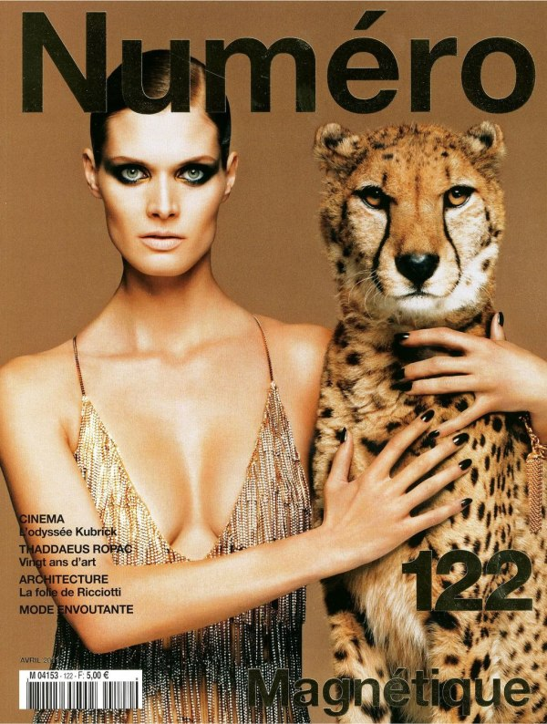 malgosiacovera <em>Numéro</em> #122 April 2011 Cover | Malgosia Bela by Greg Kadel