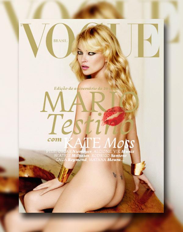 mosscover <em>Vogue Brazil</em> May 2011 Cover | Kate Moss by Mario Testino