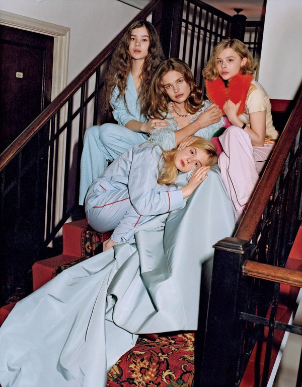 natalia vodianova00 Natalia Vodianova by Bruce Weber for <em>Vogue US</em> May 2011