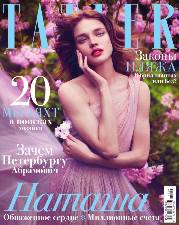 nataliacover0 Natalia Vodianova Covers <em>Tatler Russia</em> June 2011