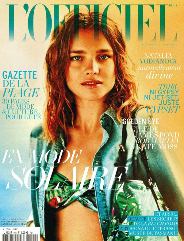nataliacoverl Natalia Vodianova for <em>LOfficiel Paris</em> June/July 2011 (Cover)