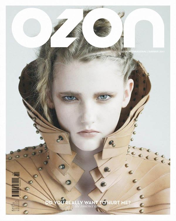 ozon <em>Ozon</em> Summer 2011 Cover | Anna by Nikolas Ventourakis