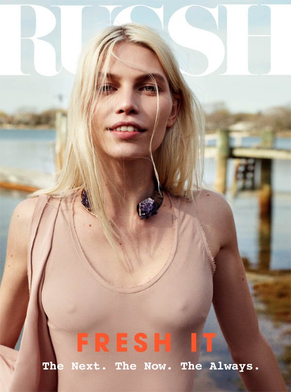 russhcover <em>Russh</em> #40 June/July Cover | Aline Weber by Benny Horne