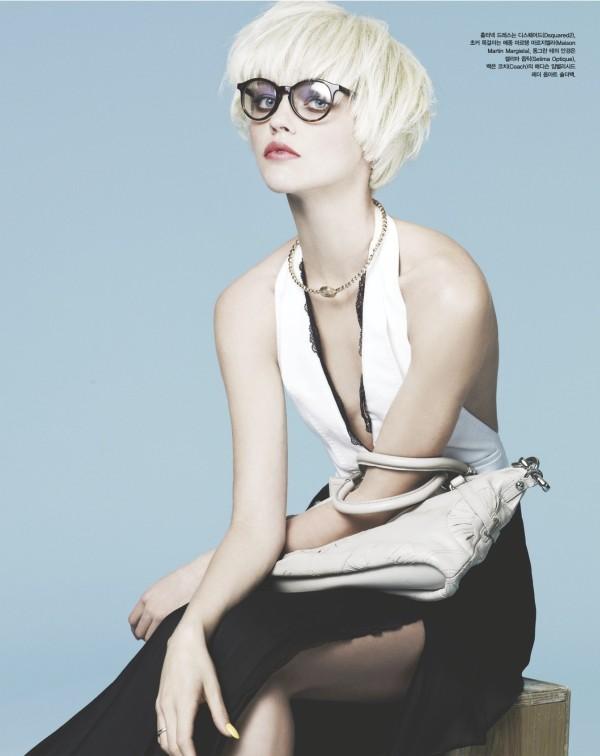 sasha pivovarova Sasha Pivovarova for <em>Vogue Korea</em> April 2011 by Nino Muñoz