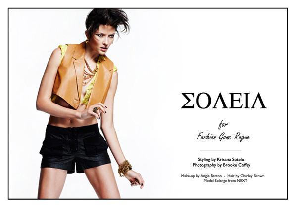 solange wilvert0 Solange Wilvert by Brooke Coffey for <em>Fashion Gone Rogue</em>