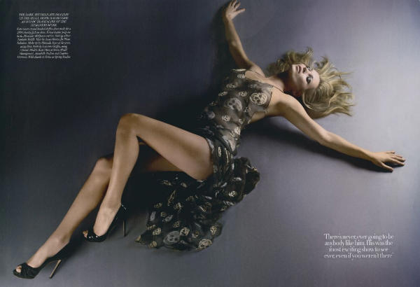 solve1 Kate Moss for <em>Harpers Bazaar UK</em> May 2011 by Solve Sundsbo