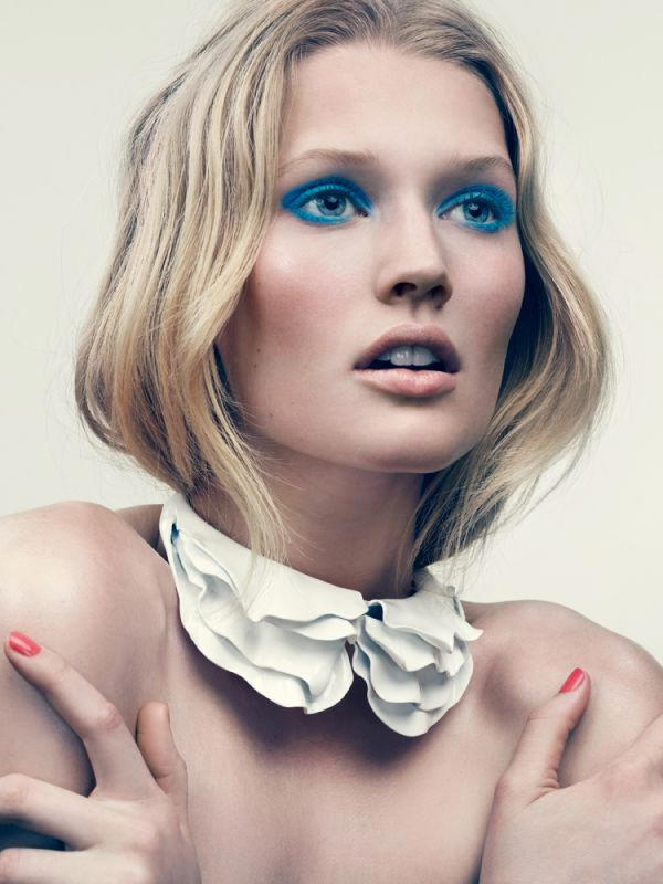 toni garrn4 Toni Garrn by David Slijper for <em>Elle France</em>