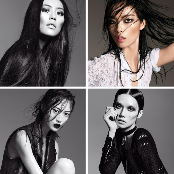 topgirls Liu Wen, Tao Okamoto & Others by Terry Tsiolis for <em>V</em> #71