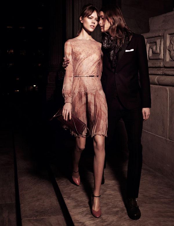valentino Freja Beha Erichsen in Valentino for <em>Interview</em> May 2011