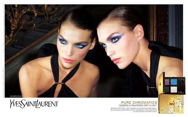 ysl YSL Pure Chromatics Spring 2011 Campaign | Arizona Muse by Terry Richardson