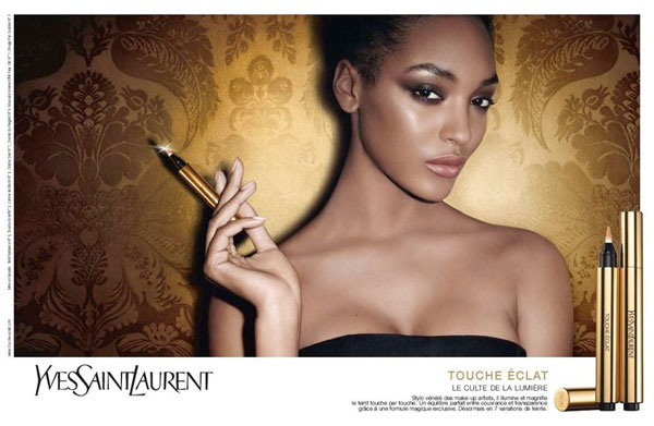 ysl1 YSL Touche Eclat Campaign | Jourdan Dunn & Ginta Lapina by Terry Richardson