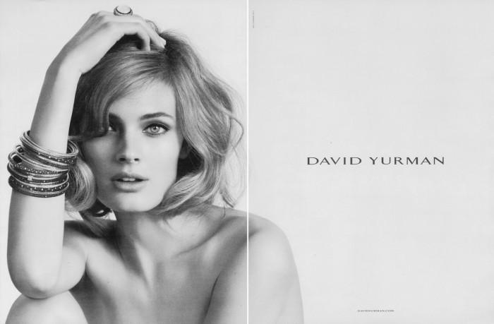 yurman David Yurman S/S 2011 Campaign | Constance Jablonski by Peter Lindbergh