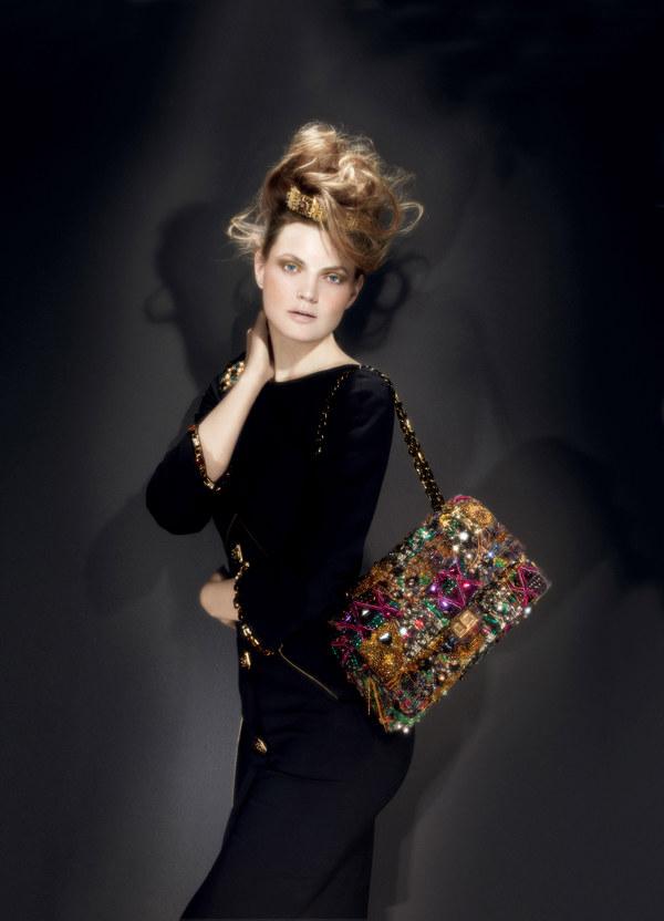 Guinevere van Seenus in Chanel for Bergdorf Goodman Pre-Fall 2011