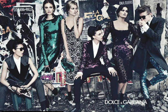 Dolce & Gabbana Fall 2011 Campaign Preview | Isabeli Fontana, Liu Wen, Maryna Linchuk, Constance Jablonski, Jac Jagaciak & Kate King by Steven Klein