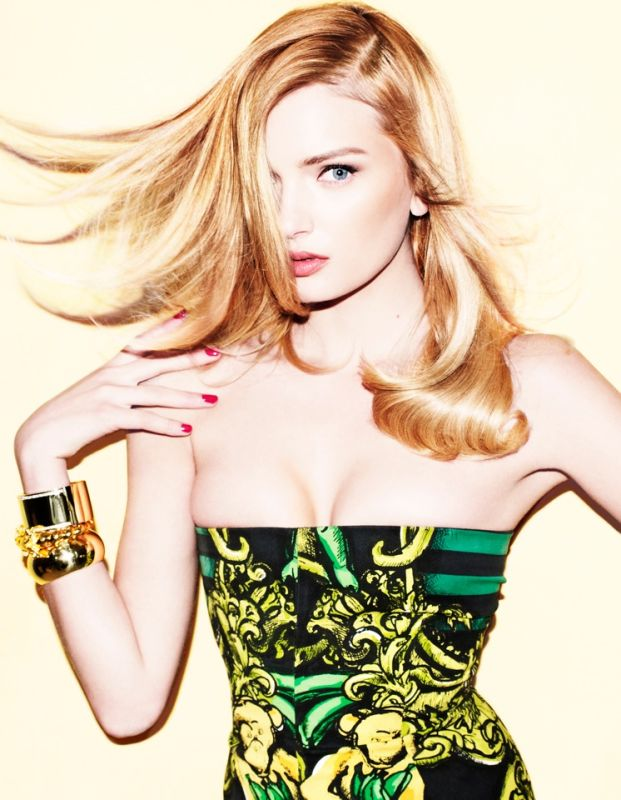 Lily Donaldson by Matt Irwin for Muse #26 Summer 2011