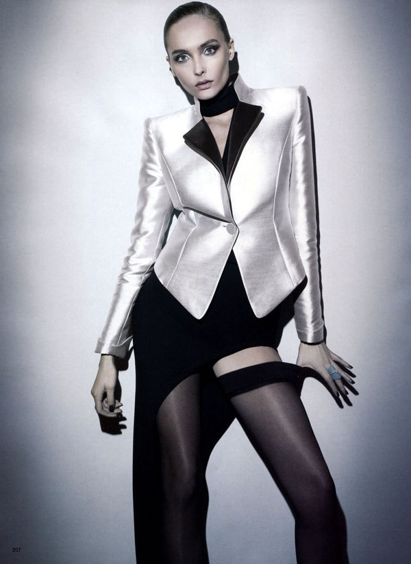 Snejana Onopka by Glen Luchford for Vogue Japan July 2011