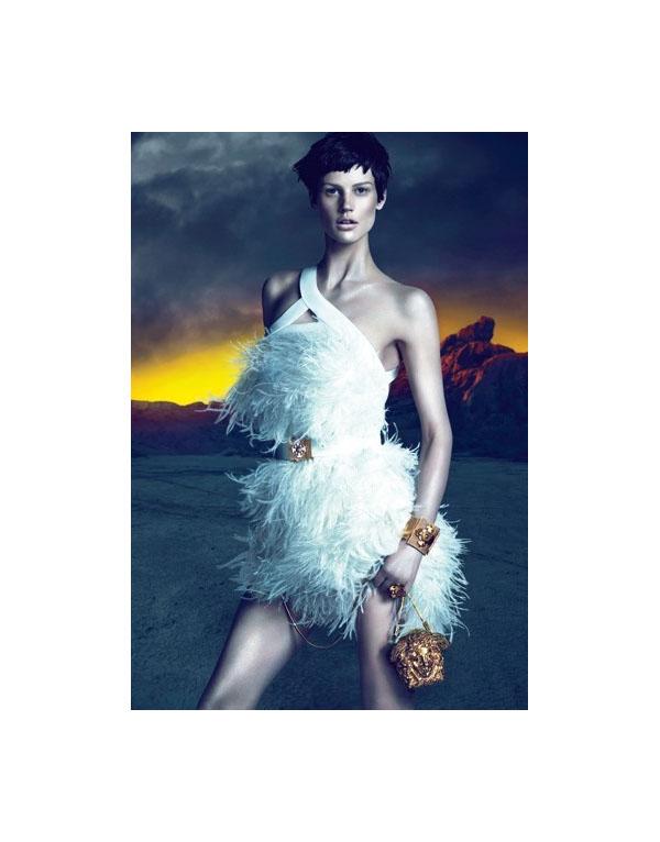 Versace Fall 2011 Campaign Preview   Saskia de Brauw by Mert & Marcus